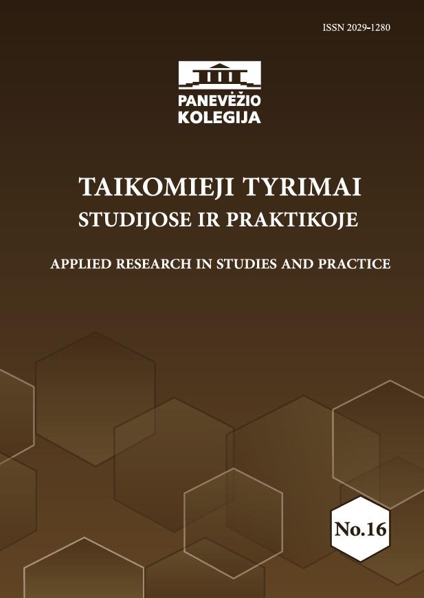 Taikomieji tyrimai studijose ir praktikoje - Applied research in studies and practice